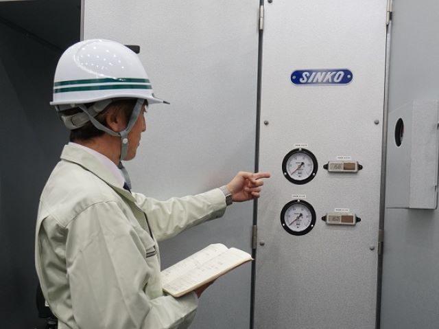運転監視・設備点検・機器修理